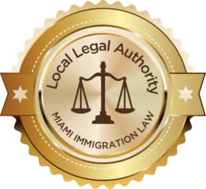 Local Legal Authority Badge Awarded to Miami Immigration Lawyer